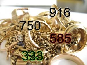 Goldschmuck-legierungen